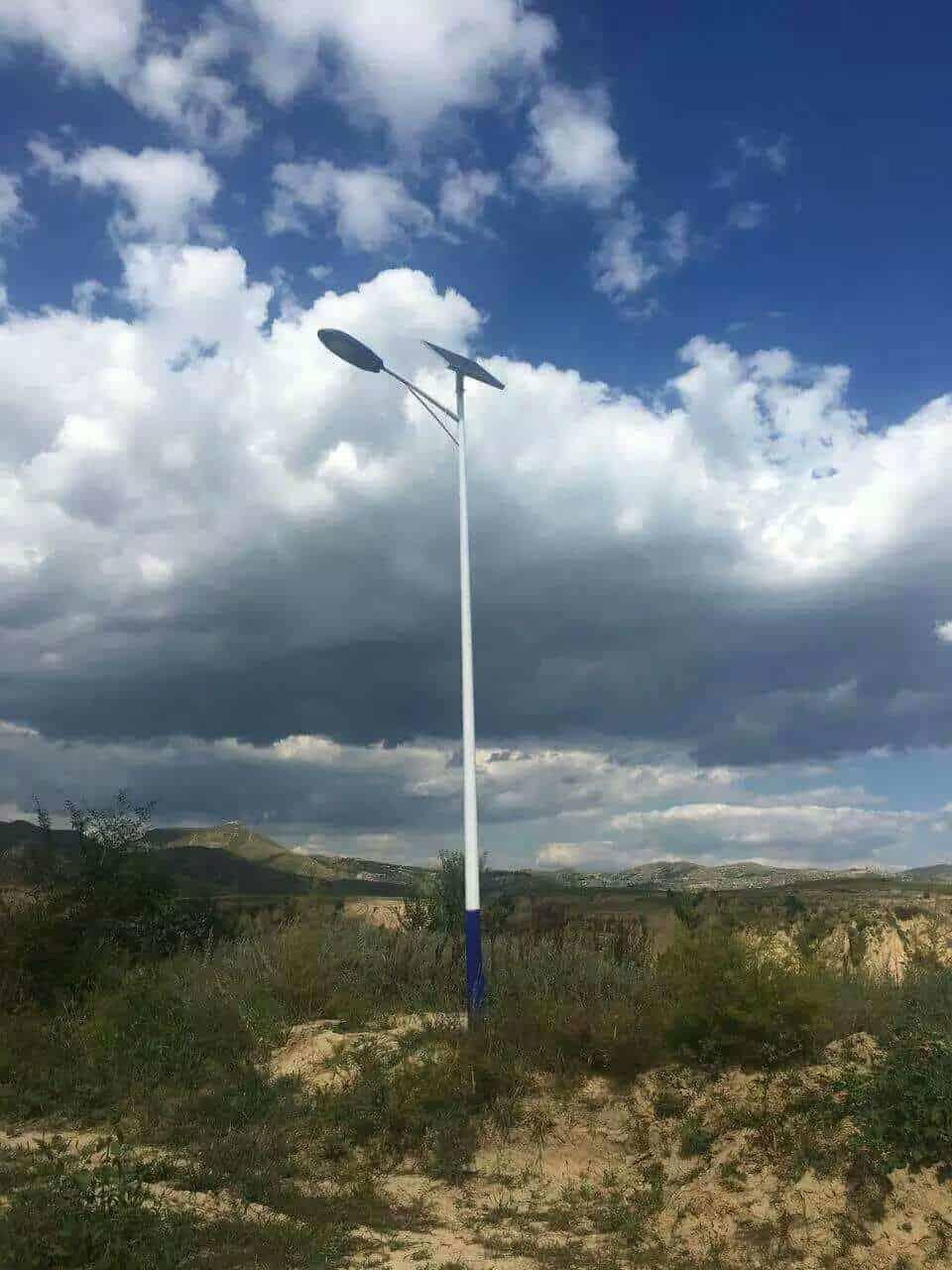 LED street lamp solar power