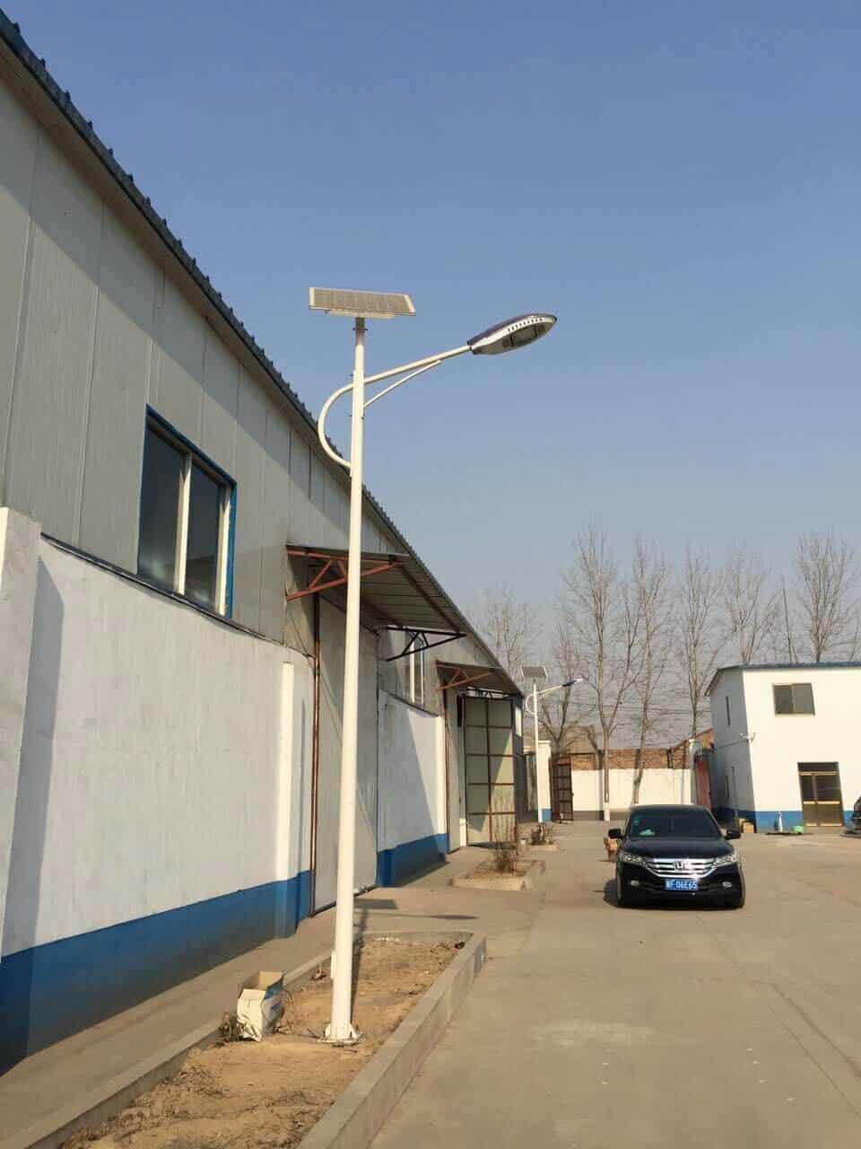 LED street light solar power