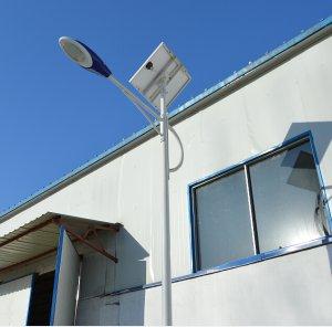 Solar power LED street lamp