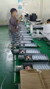 Almost finish 4500pcs LED street lights, prepare to deliver to my customer