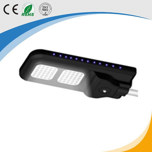 40W model all in one solar LED street light road lamp